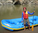 White Water Rafting Along the Chico River