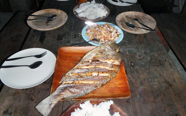 at Tribal Adventures, there's always big fish on the table