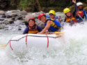 River rafting along Cagayan de Oro River with Great White Rafting