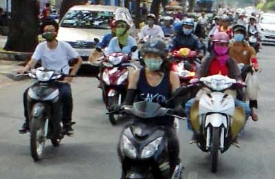 Saigon's Fascinating Motorbike Culture