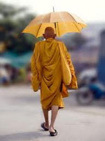 Umbrella Monk