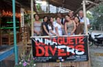 with Simon and the awesome crew of Dumaguete Divers