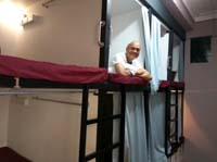 getting by in Singapore's capsule beds