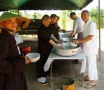 living with the monastics of Plum Village, Pak Chong, Thailand
