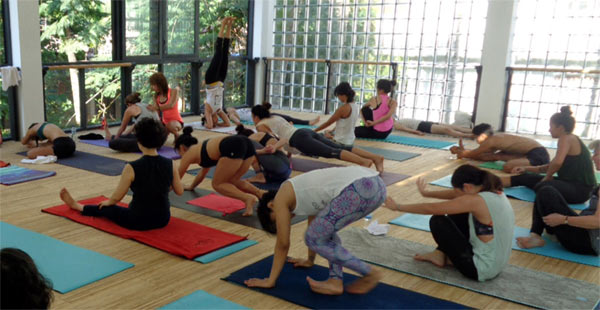 Mysore Ashtanga with Laruga Glaser at Ubud Yoga Center