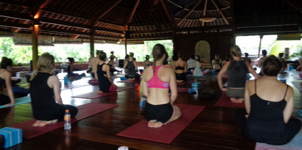 Power Yoga with Ni Made Murni at The Yoga Barn