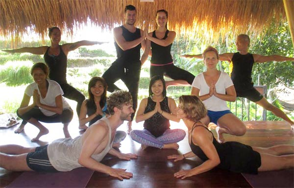 Yoga with Sasha Lang at the Ubud Yoga House