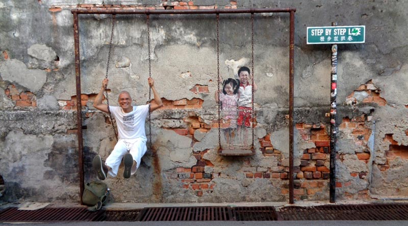 The Animated Street Art of Penang