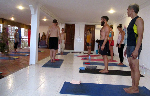 Yoga at Ahimsa Yoga Academy (Siem Reap)