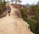 a hike along the ridge of Pai Canyon is breath-taking