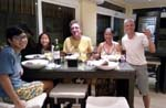 dinner with the Hutchinsons in Boracay