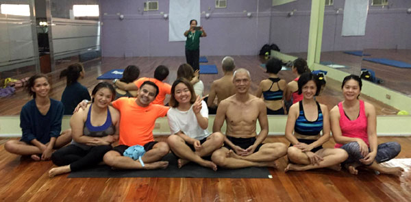 Ashtanga Yoga with James Fritz Freire at Holiday Gym and Spa