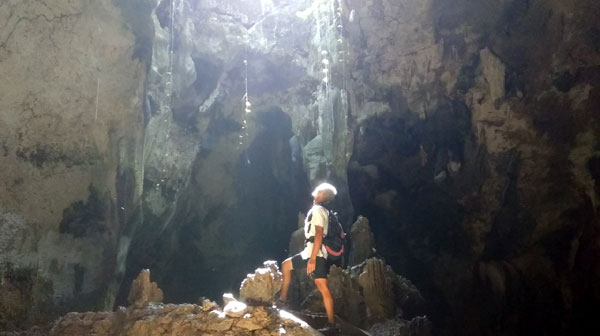Exploring Bukilat Cave, Camotes Islands