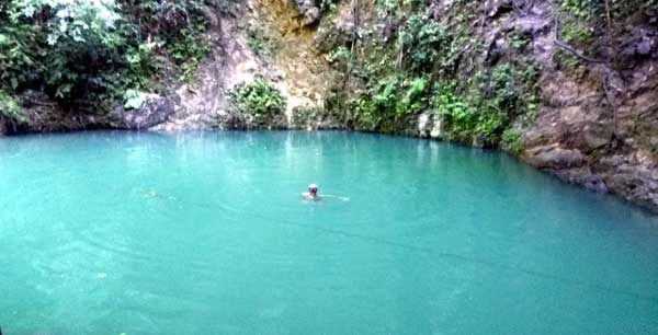 Freediving Canawa Cold Spring of Candijay, Bohol