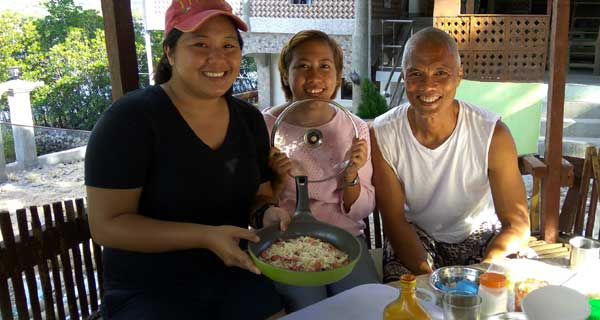 Pizza-Making Party in Camotes Islands