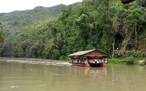 River Cruise on Loboc River