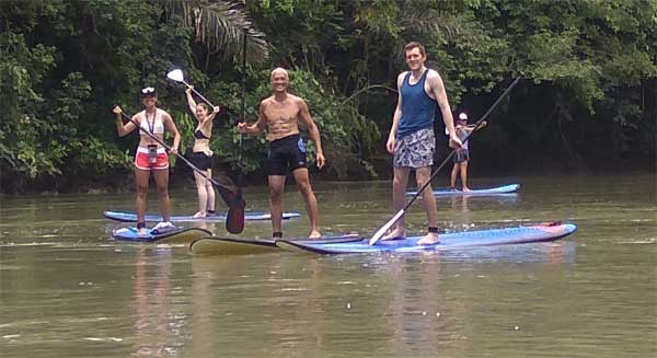 Loboc River Cruise on a Stand-Up Paddle