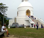 Trekking to the World Peace Pagoda