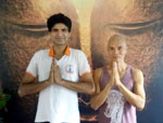 Vinyasa Yoga with Dipendra at the Mandala Yoga Studio and Spa, Kathmandu