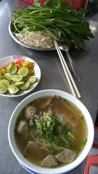 Pho of Ho Chi Minh City