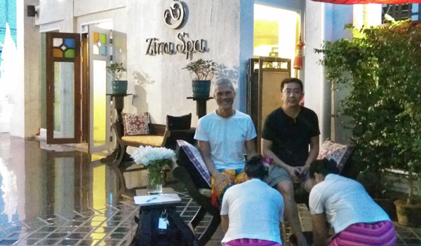 Kneaded and Pampered at Zira Spa