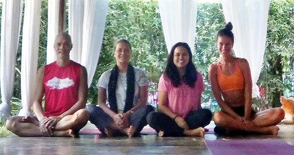 In-House Yoga Teacher at the Fox and Firefly Cottages