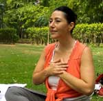 Meditation with Shirly Pnina at Lodi Garden, New Delhi
