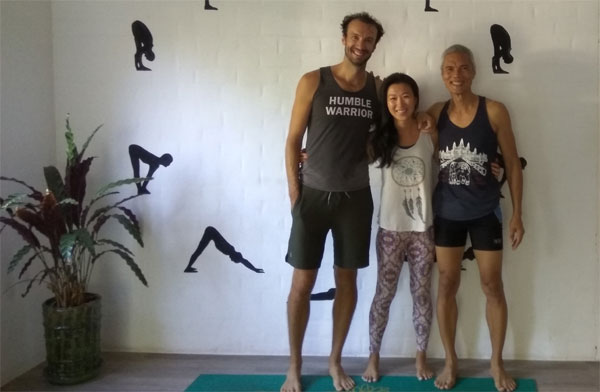 Sunrise Yoga with Jerome at Yangon Yoga House