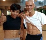 Abs Workout with Teacher San at Now's Fitness