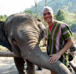 Bonding with the Elephants in Chiang Mai