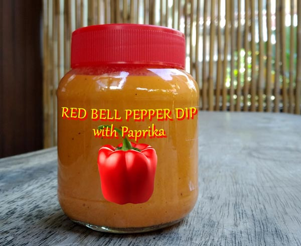 Roasted Red Bell Pepper Puree