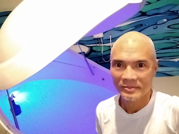 Meditation in a Sensory Deprivation Tank at Float Chiang Mai