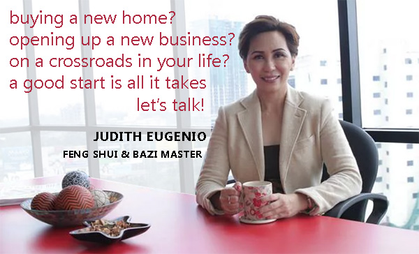private feng shui session with Judith Eugenio, Cebu