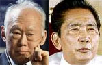 Lee Kuan Yew and Ferdinand Marcos